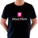 Blind Pilots Classic T shirt mens black