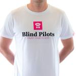Blind Pilots Classic T shirt mens white