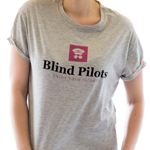Blind Pilots Classic T shirt women Grey